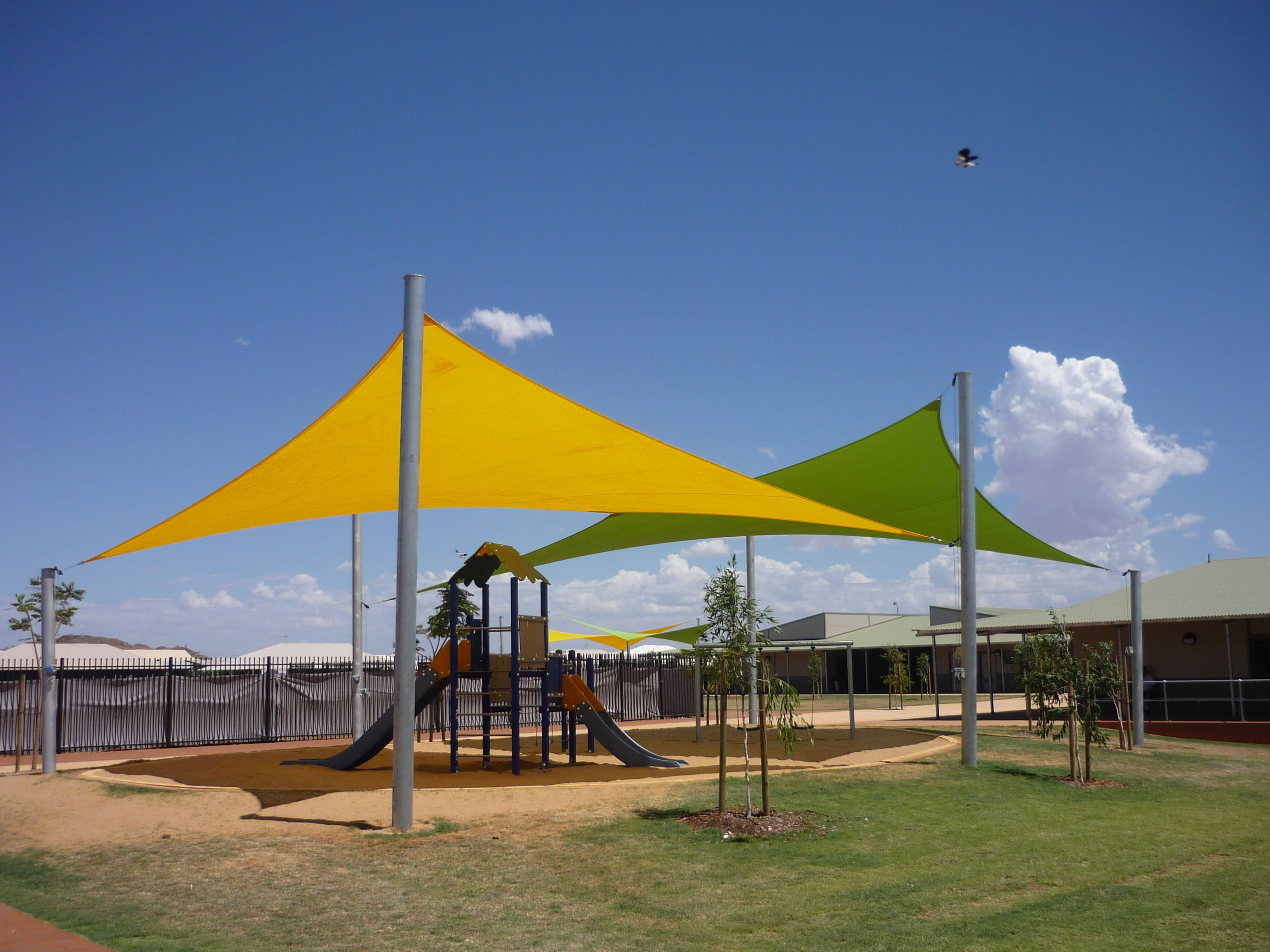 Shade sails more than a piece of shadecloth for Shadesails com