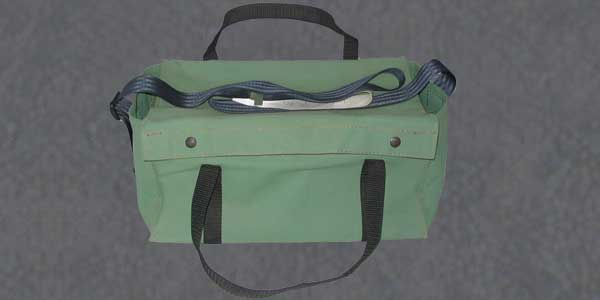 An example of our custom canvas tool bags in Perth.